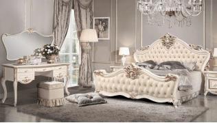Спальня Амели 5С (с туалетным столиком)