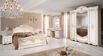Спальня Джулия 4С (с туалетным столиком)