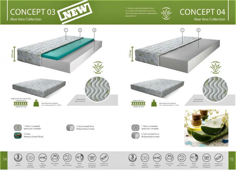Матрас Concept 03