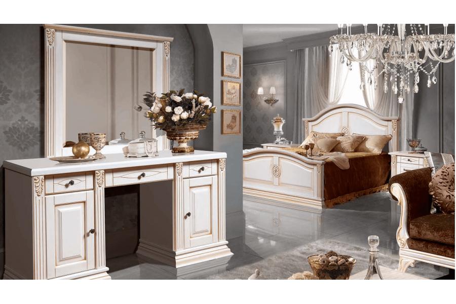 Спальня Бьянка 4с (с туалетным столиком)