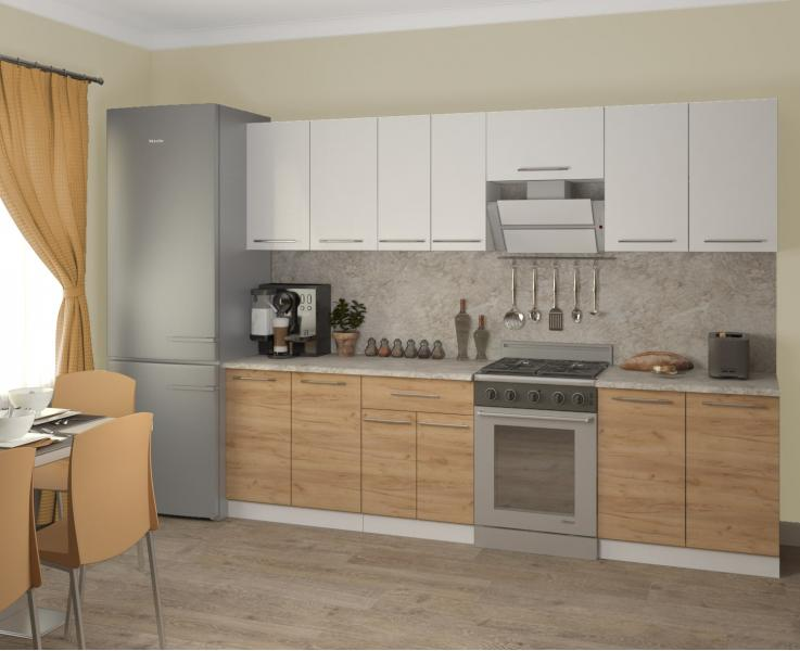 Кухонный шкаф - стол рабочий МАРТА ШС 60-1Д (под встроенный духовой шкаф)